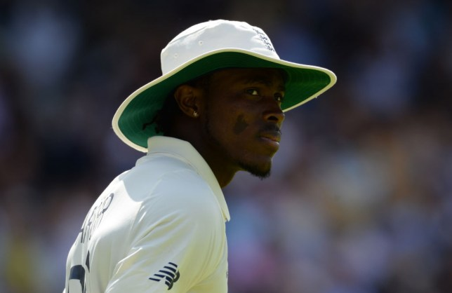 Jofra Archer produced a brutal spell of fast bowling in the Ashes