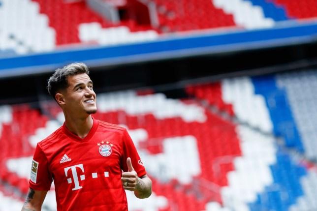 Philippe Coutinho joined Bayern Munich on a season-long loan