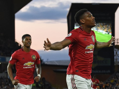 Marcus Rashford says Manchester United need to get Anthony Martial on the ball more