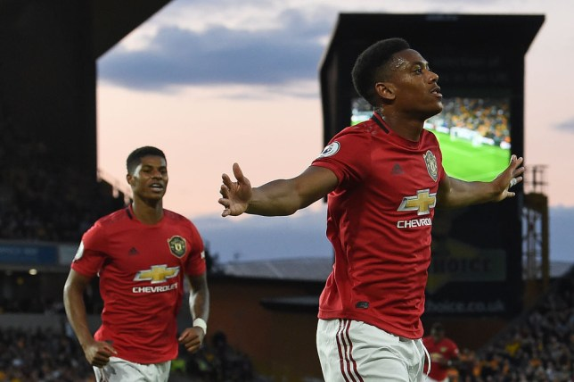 Marcus Rashford tells Man Utd teammates how to get the best out of Anthony Martial