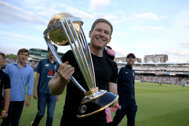Eoin Morgan led England to their first men's World Cup win