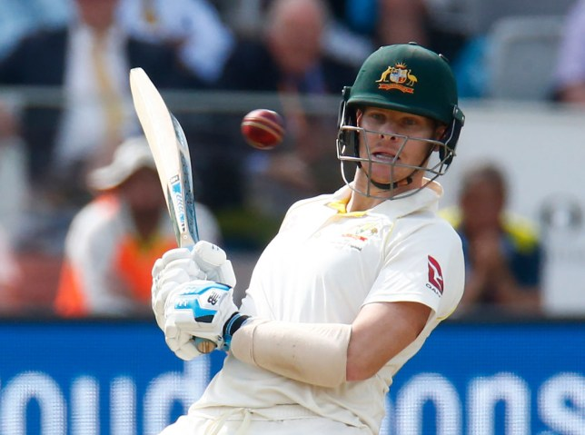 Steve Smith of Australia playing cricket