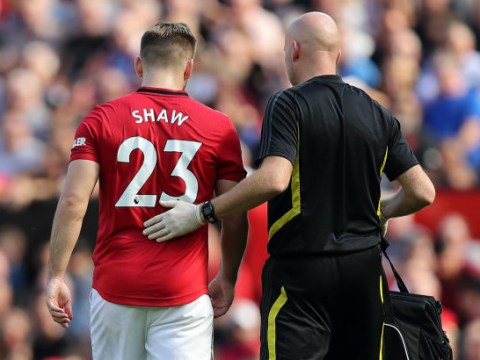 Manchester United star Luke Shaw set for five weeks out with hamstring injury