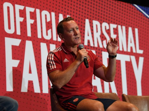 Ray Parlour rates Arsenal's title chances after 100 per cent start