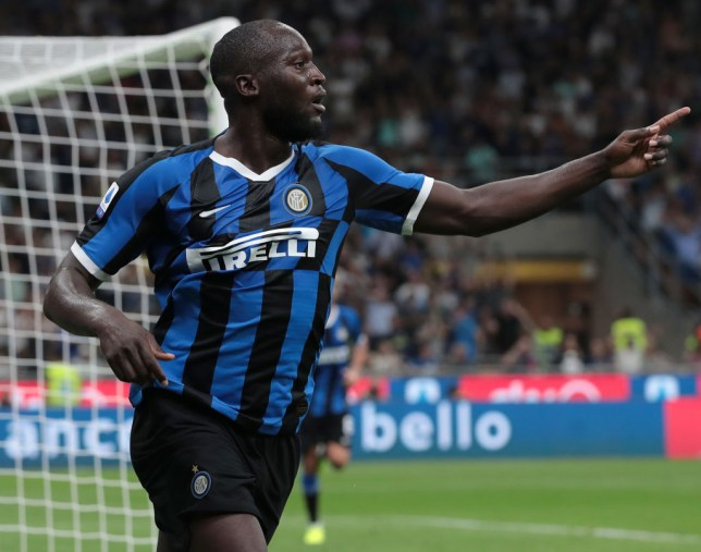 Romelu Lukaku sends message to Man Utd with debut goal for Inter ...