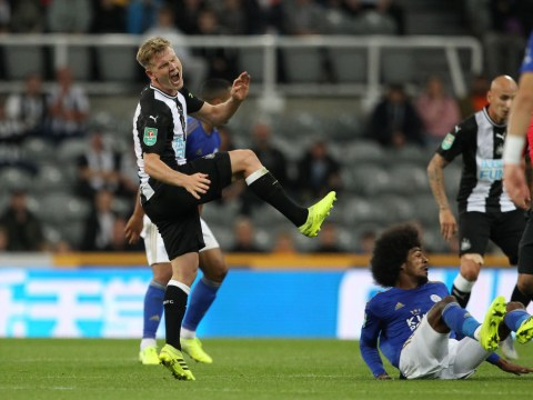 Matt Ritchie suffers 'horror challenge' leaving Newcastle manager Steve Bruce 'fearing ankle damage'