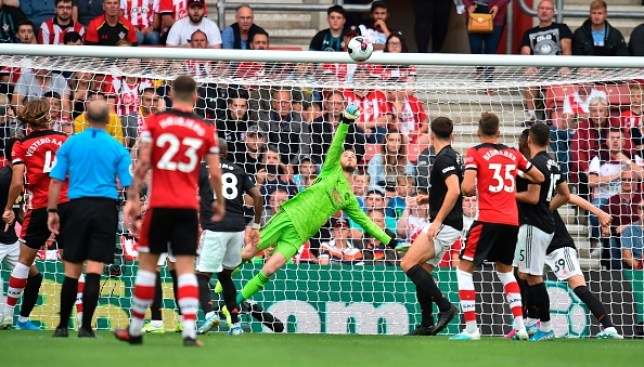 David de Gea to blame for Man Utd dropping two points against Southampton, claims Andy Gray