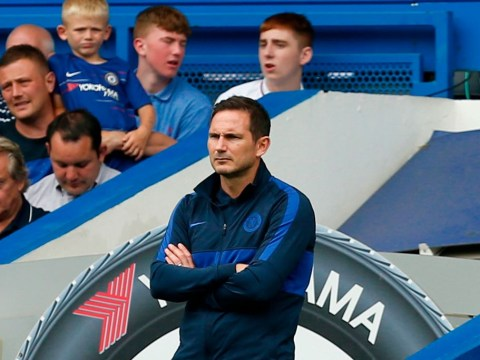 Frank Lampard reacts as Chelsea squander two-goal lead against Sheffield United