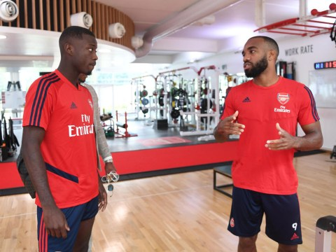 Arsenal provide Nicolas Pepe and Alexandre Lacazette fitness updates before Newcastle clash