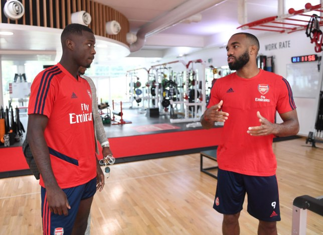 Arsenal provide Nicolas Pepe and Alexandre Lacazette fitness updates before Newcastle game