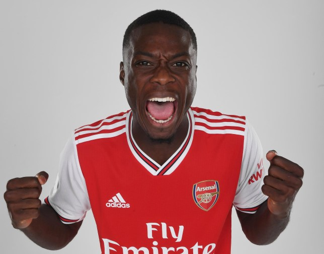 Arsenal completed a club-record £72m move for Nicolas Pepe