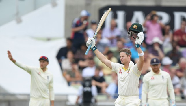 Steve Smith has kept Australia in contention in the opening Ashes Test