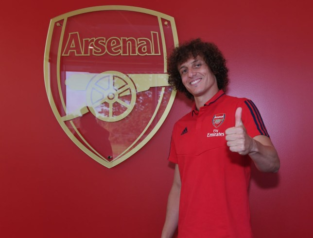 David Luiz rates Arsenal's summer transfer business after ditching Chelsea for Gunners