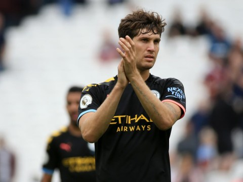 Pep Guardiola ready to put faith in John Stones after Aymeric Laporte injury