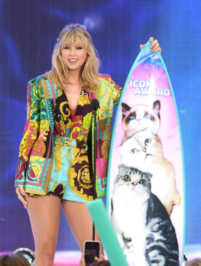 Image result for Taylor Swift teen choice 2019 speech