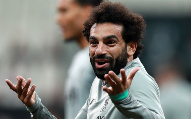 Liverpool's Mohamed Salah takes on Pep Guardiola over his Champions League jibe