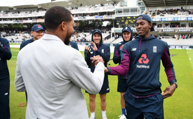Chris Jordan handed new England star Jofra Archer his first Test cap
