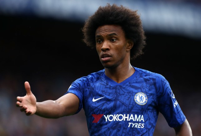 Willian replaced Christian Pulisic in the second half of Chelsea's draw with Leicester
