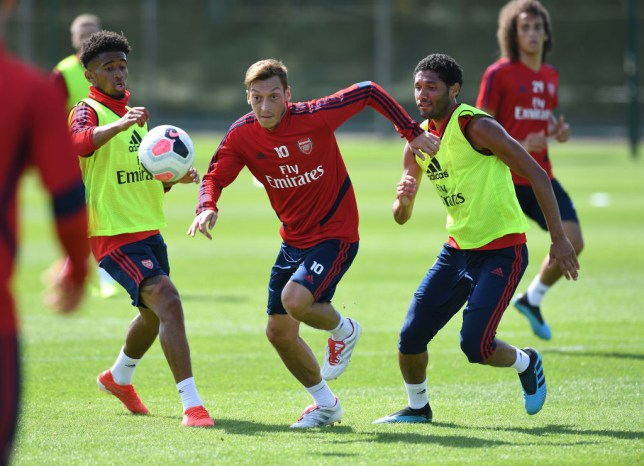 Mesut Ozil is set to play this weekend