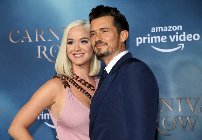 Katy Perry dating Orlando Bloom