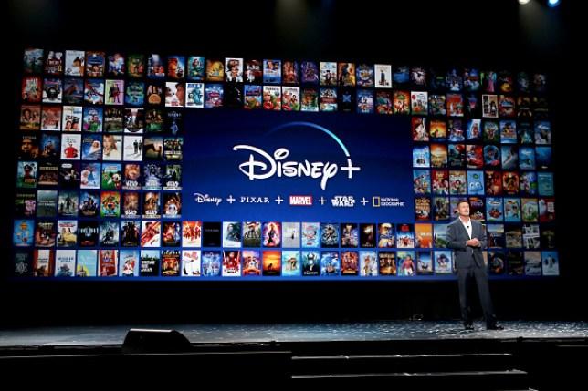 Disney Plus showcase at the D23 Expo