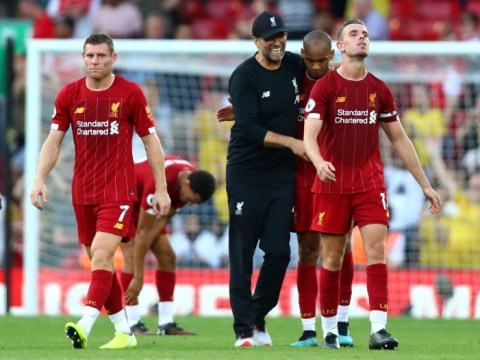 Jurgen Klopp reveals what he said at half-time to help inspire Liverpool's win over Arsenal