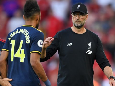 Jurgen Klopp delighted Arsenal's only big chance came from Liverpool mistake