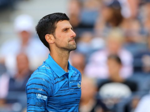 Novak Djokovic reacts to solid start to US Open title defence