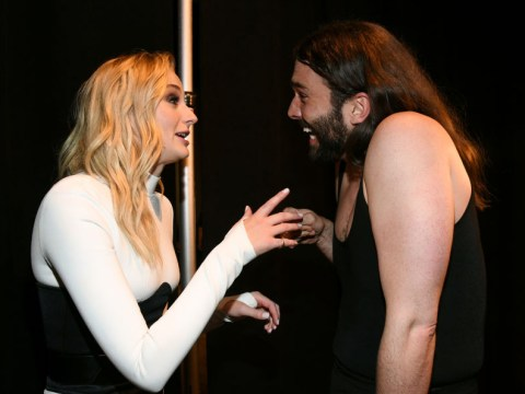 Sophie Turner finally met Jonathan Van Ness and they're officially 'obsessed' with each other