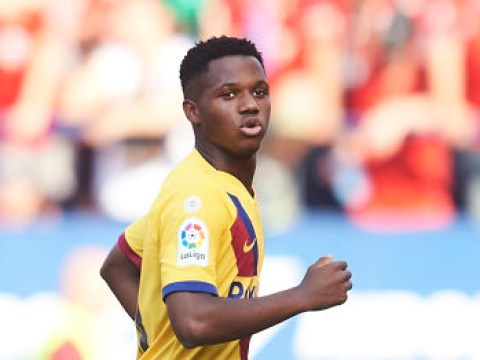 Ansu Fati becomes Barcelona's youngest-ever goalscorer with historic strike against Osasuna