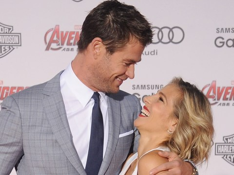 Avengers' Chris Hemsworth shows off Thor's new cape as birthday present from wife Elsa Pataky melts hearts