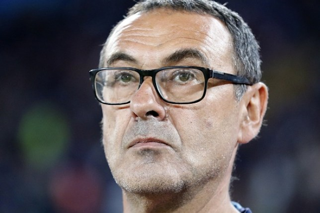 Maurizio Sarri is being treated for pneumonia (Picture: Getty)