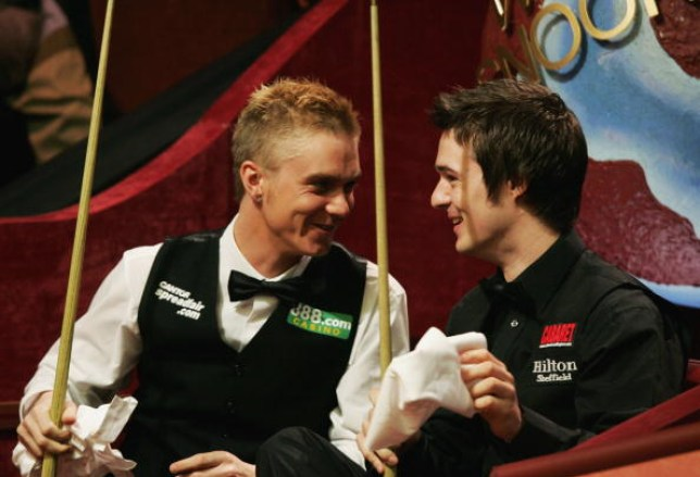 Paul Hunter and Michael Holt