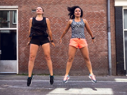 Daily Fitness Challenge: Squat jumps – how many can you do?