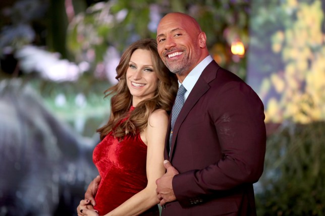 How long has 'The Rock' Dwayne Johnson been with Lauren