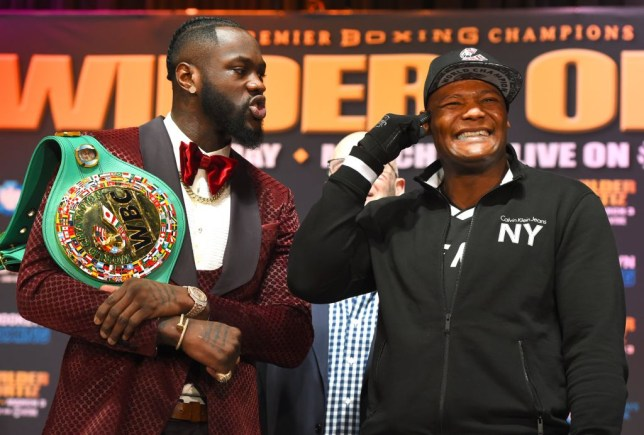 Tyson Fury mocks '147-year-old' Luis Ortiz and makes Deontay Wilder fight prediction