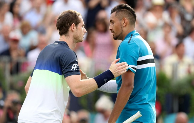 Andy Murray reveals he spoke to Nick Kyrgios after the Australian's Cincinnati Masters meltdown