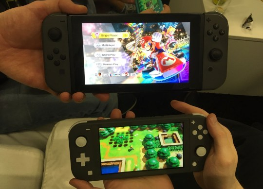 Nintendo Switch Lite hands-on – it's light but it doesn't