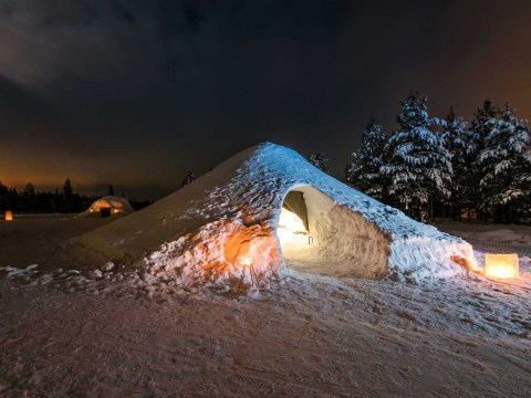 Sleep under the stars and the Northern Lights in this magical igloo in Finland