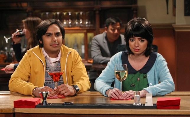 The Big Bang Theory's Raj and Lucy