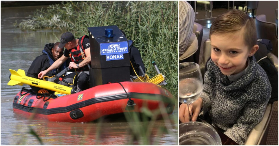 Lucas Dobson update as hopes fade of finding boy alive in River Stour