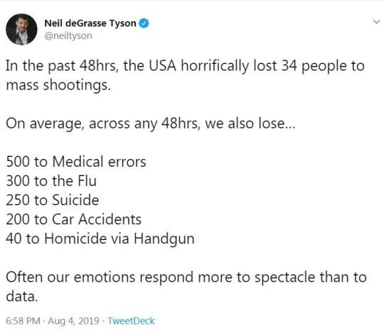 Neil deGrasse Tyson mass shooting tweet angers Smash Mouth | Metro News