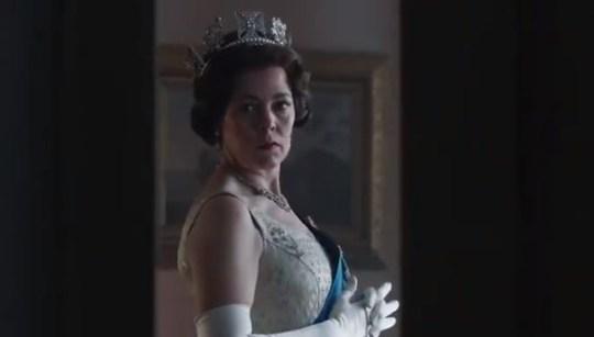 Olivia Colman as the Queen