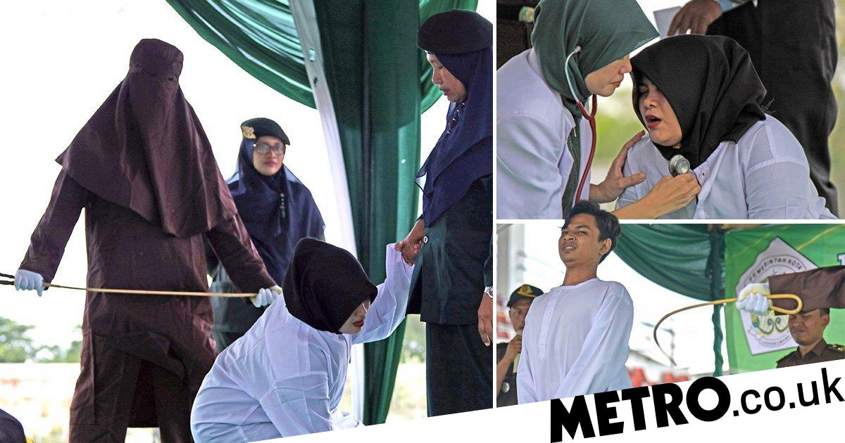 Islam arabic indian turkish pakistan custom fashion silver round pill box medicine. Aceh Province Whipping Muslim Woman Caned In Indonesia By Sharia Law Metro News