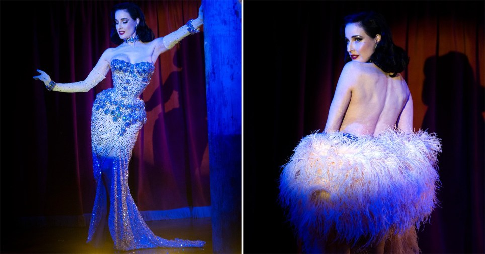 Dita Von Teese on sexism in striptease, performing for Rihanna, and what it means to be sexy