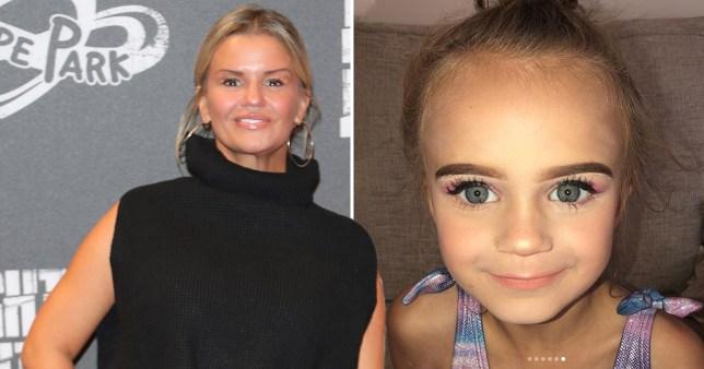 Kerry Katona and daughter Dylan-Jorge