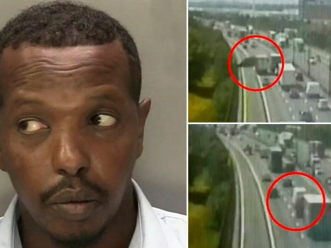 Delivery driver goes on rampage on causing chaos on motorway