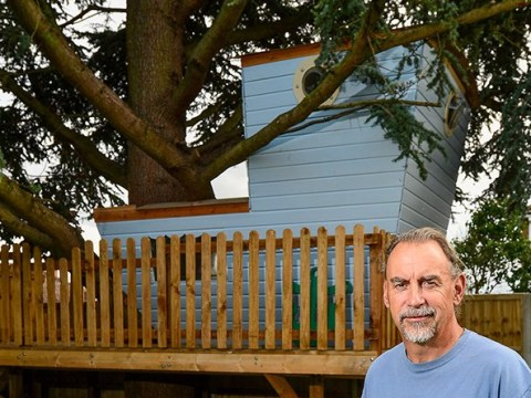 Killjoys order children to pull down tree house it took six weeks to build