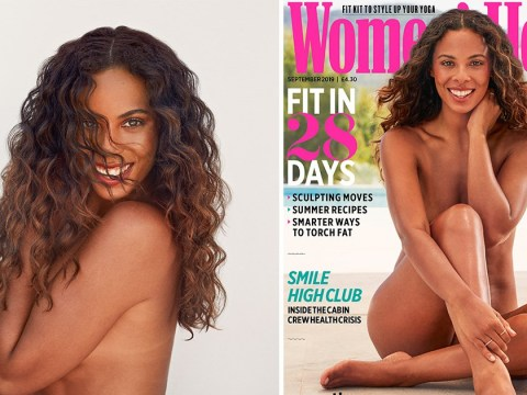 Rochelle Humes bares all in nod to newfound body confidence, stretch marks and all
