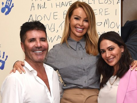 Simon Cowell is all smiles with girlfriend Lauren Silverman at Katie Piper's rehab centre launch